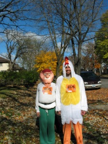 Peter Griffin and the Chicken