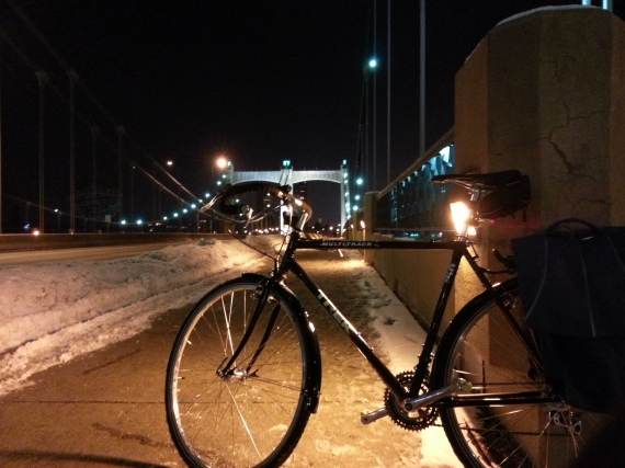 Winter Night Ride