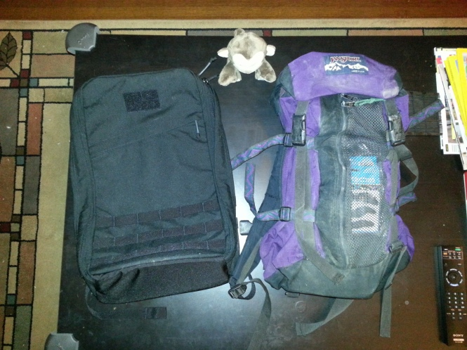GORUCK GR1 vs JanSport
