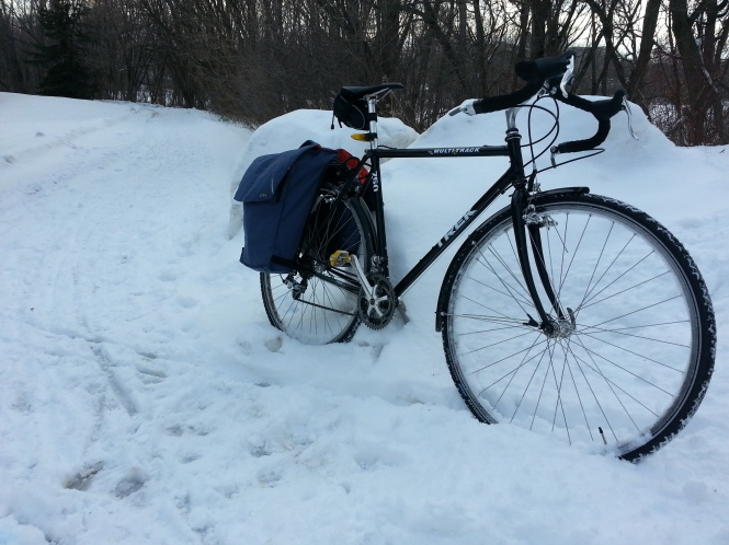 Winter Commuting Bike