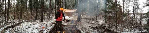 Becoosin lake campsite
