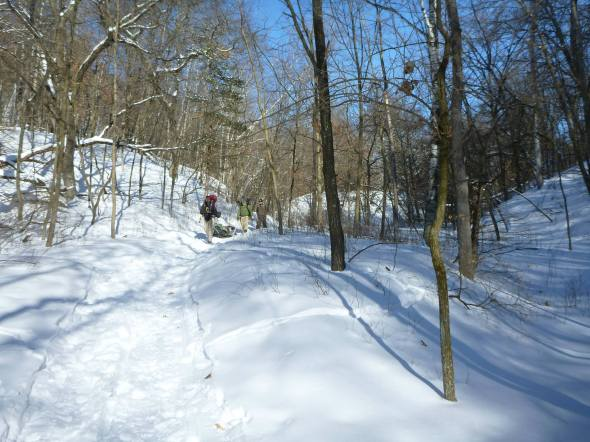 Afton Winter Camp Hike