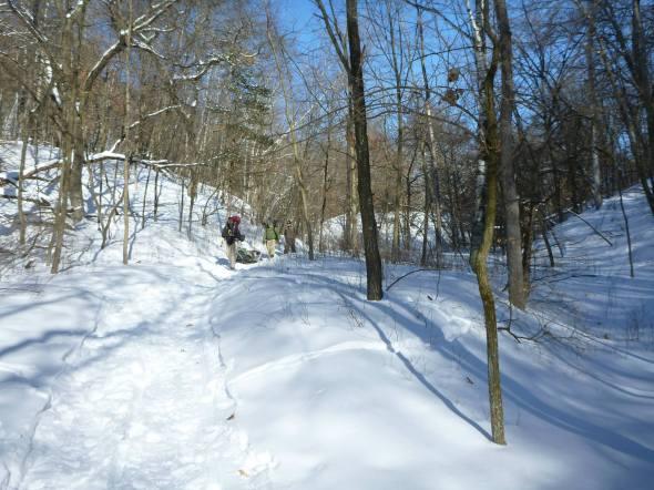 Afton Winter Camp Hike