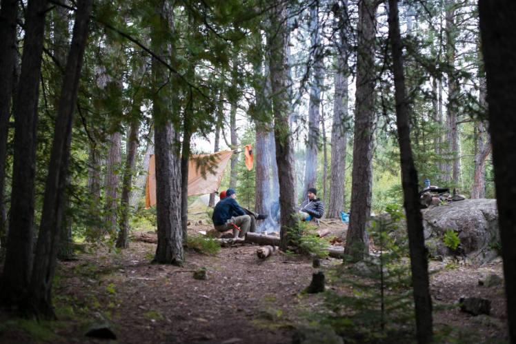 Snowbank Trail Campsite
