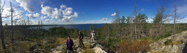 Snowbank Lake Trail vista overlook