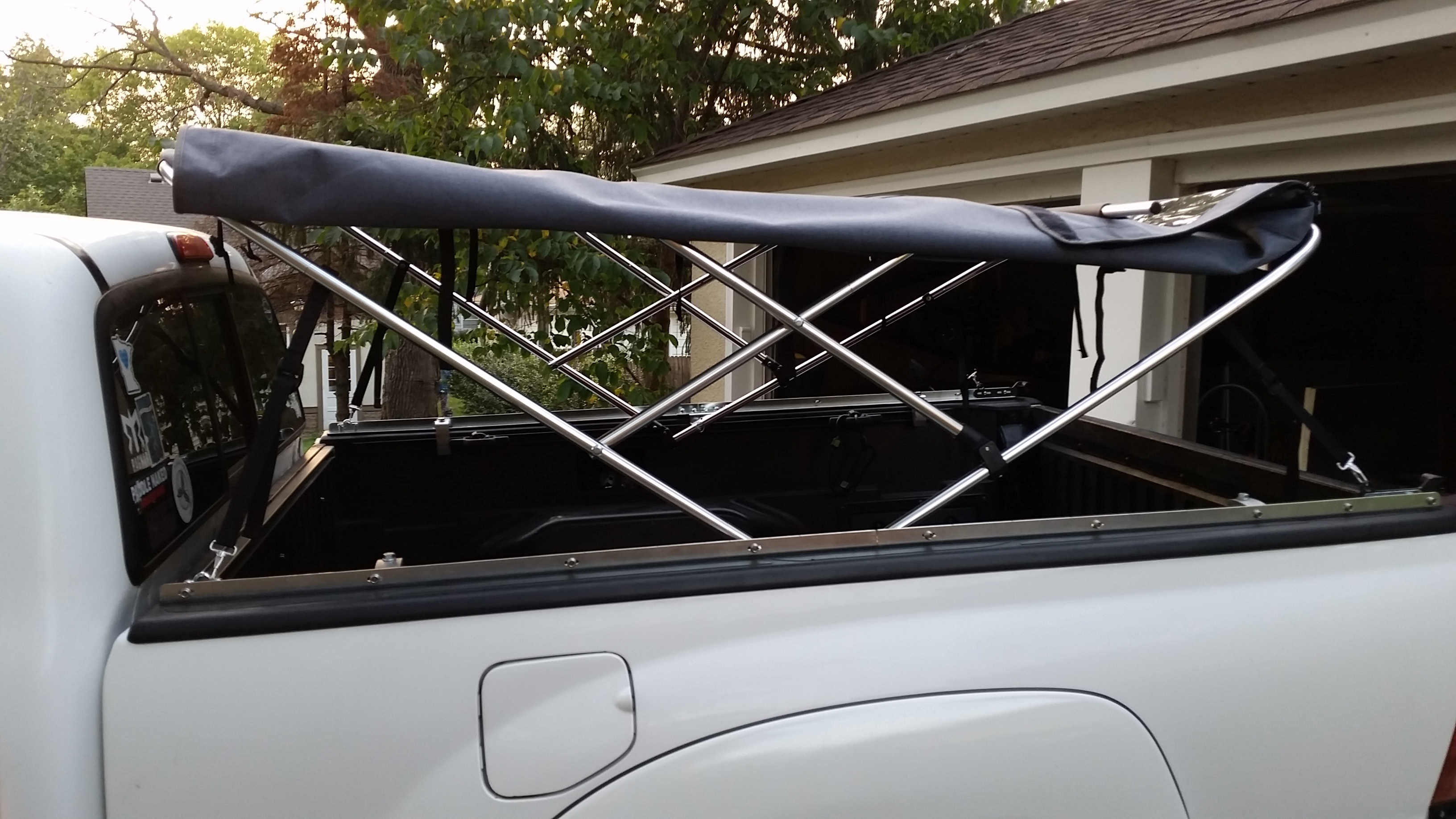Cover Your Bed: Softopper Truck Bed Top – Monkey with Chainsaw